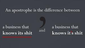 Apostrophe(3)