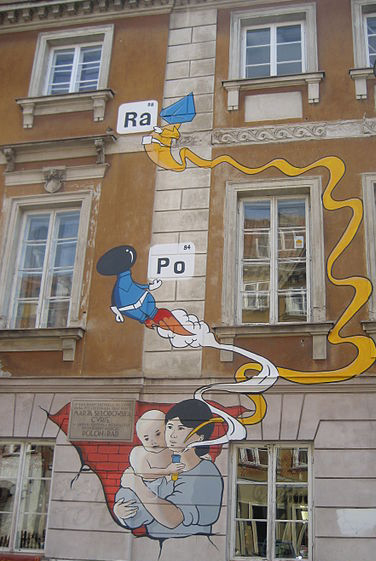 Marie-Curie-birthplace-mural
