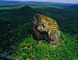 Sigiriya in Sri Lanka tourism destinations