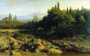 Orlovsky-Crimean-landscape-1868