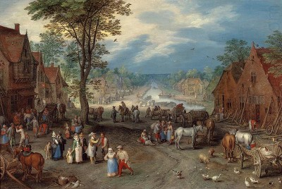 Village-scene-with-canal