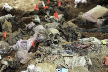 Forensics Experts Work On Exhuming And Identifying Srebrenica Victims