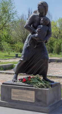 Mother Arising Out of the Ashes (memorial statue to the Armenian