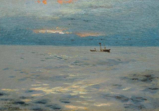 Seaside(III)-John-Singer-Sargent