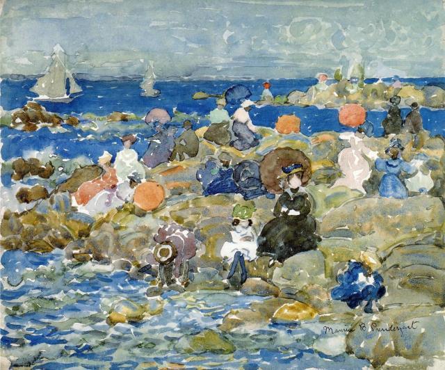 Seaside(IV)-Maurice-Prendergast