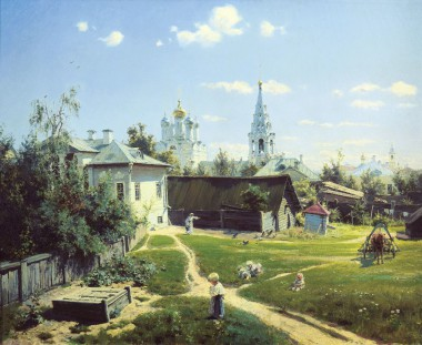 Moscow-Courtyard