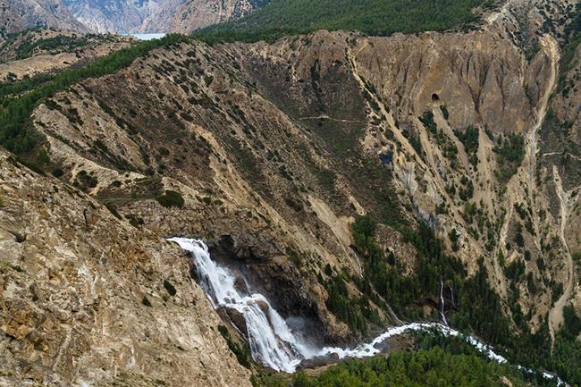 Phoksundo waterfall